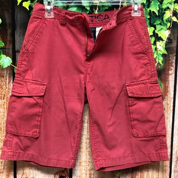 13d5df888 NAUTICA Boys Cargo Shorts. M_5cb327e52f483173bcd23fad